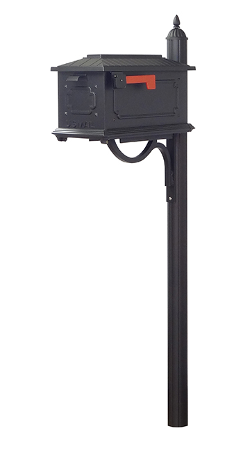 Kingston Curbside Mailbox And Richland Mailbox Post